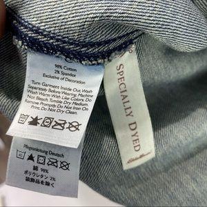 Eddie Bauer Jackets & Coats - Eddie Bauer Denim Distressed jean jacket